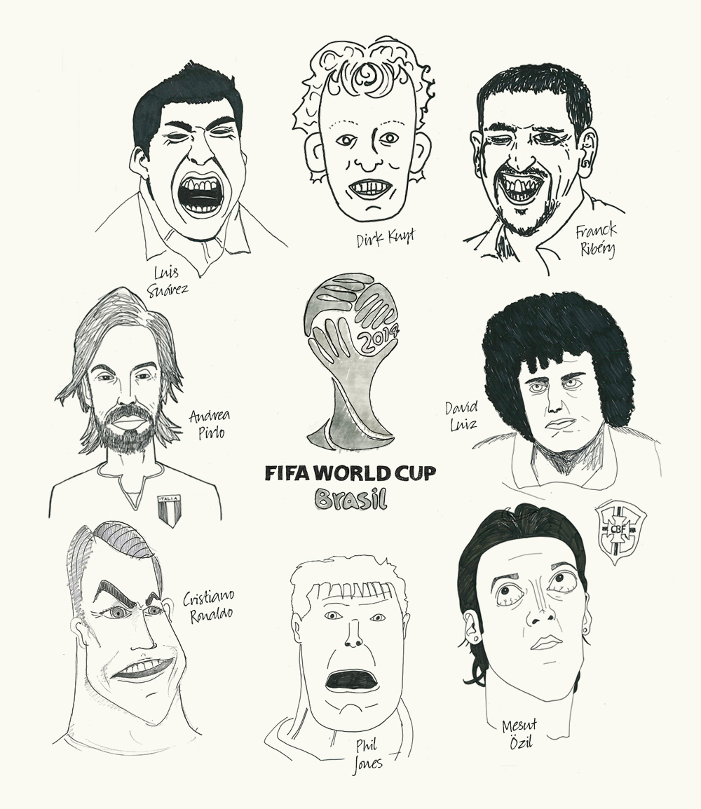 World Cup Doodles (5 minutes)