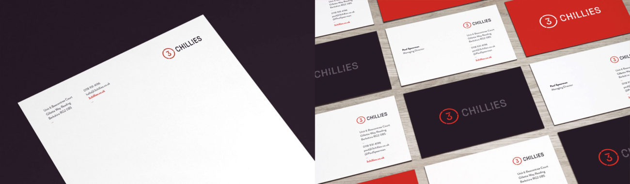 3 Chillies Stationery